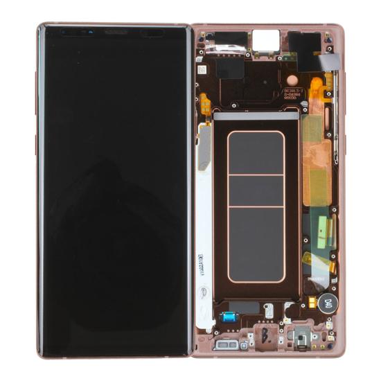 Image de Unité d'affichage pour Samsung Galaxy Note 9 N960, Cuivre Or