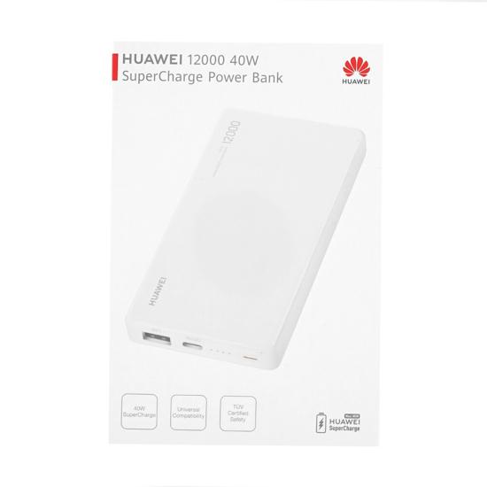 Image de Huawei SuperCharge Power Bank CP12S 40W 12000mAh Blanc