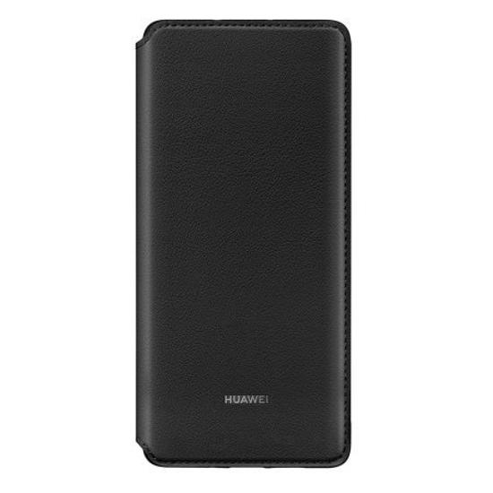 Image de Étui Portefeuille Huawei Original Noir pour Huawei P30 Pro