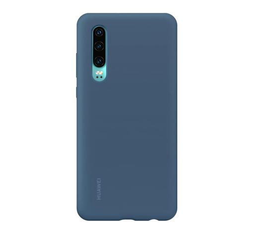 Image de Coque Voiture Silicone d'Origine Huawei Bleu pour Huawei P30