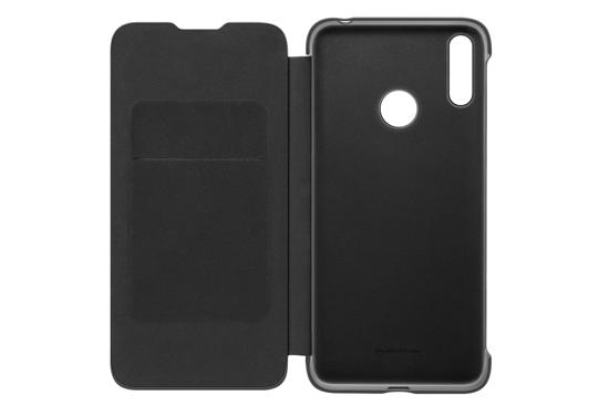 Image de Étui Folio d'origine Huawei pour Y7 2019 Noir