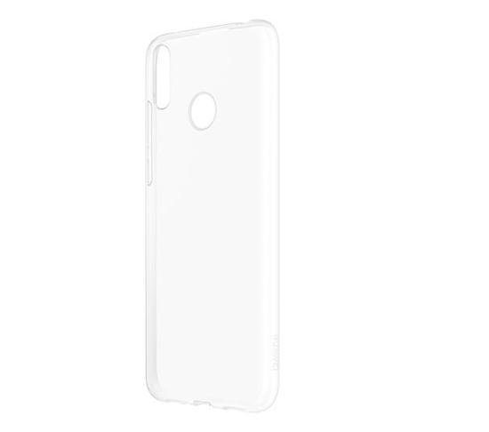 Image de Coque de protection en TPU d'origine Huawei pour Huawei Y7 2019 Transparent