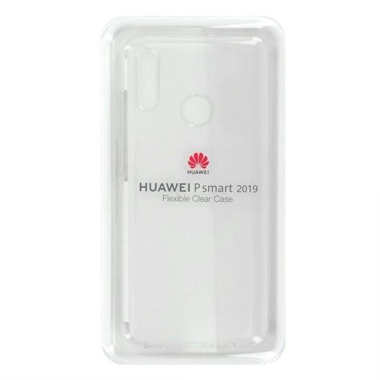 Image de Coque de protection en TPU d'origine Huawei pour P Smart 2019 Transparent