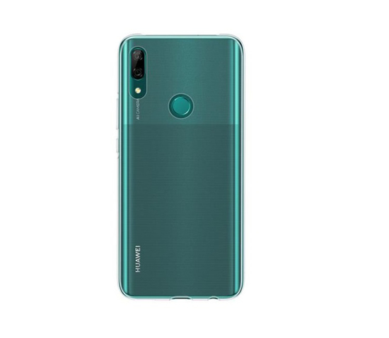 Image de Coque de protection en TPU d'origine Huawei pour P Smart Z bleu transparent