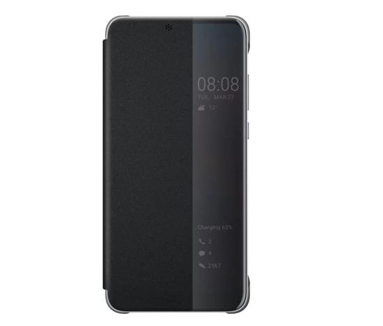 Image de Coque Huawei Original S-View Noire pour Huawei Mate 20