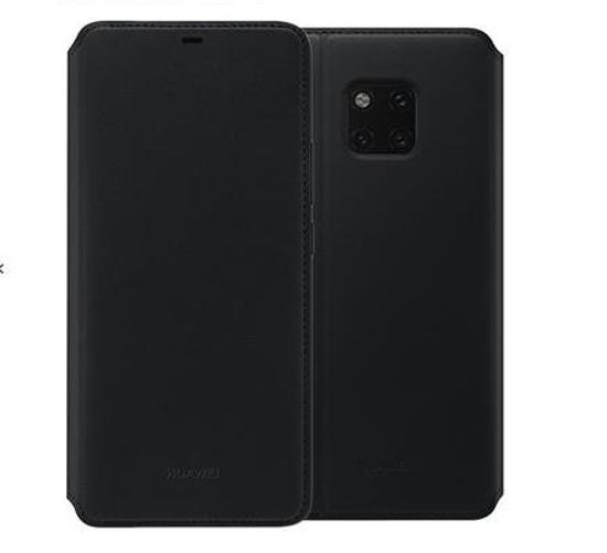 Image de Étui Portefeuille Huawei Original Noir pour Huawei Mate 20 Pro (Blister endommagé)