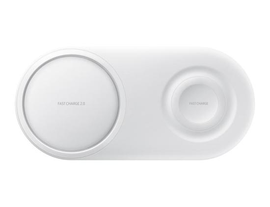 Image de Samsung Chargeur sans fil Duo Pad EP-P5200TW blanc