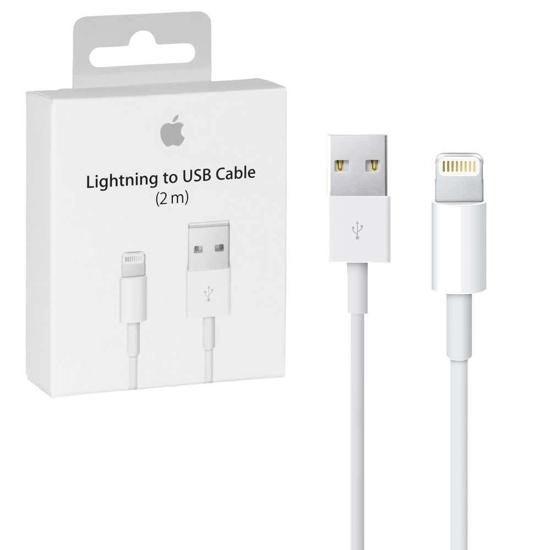 Image de Câble Apple USB-A vers Lightning 2m MD819ZM / A Blanc