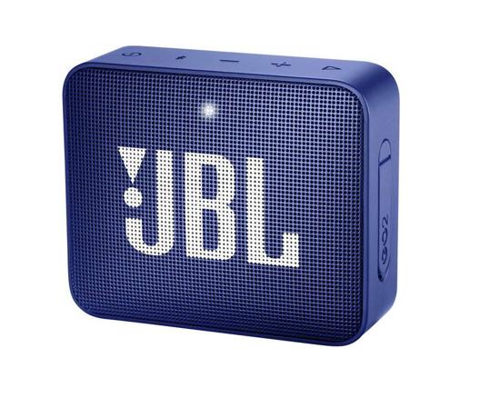 Image de Enceinte Bluetooth JBL Go2 Aux, mains libres, extérieur, bleu étanche