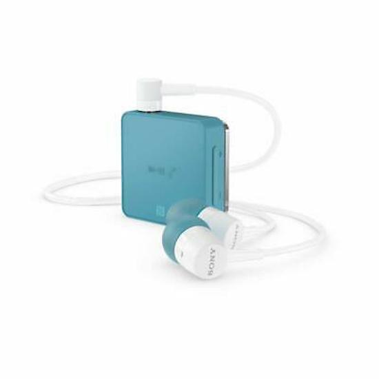 Image de Casque stéréo Bluetooth Sony SBH24 bleu