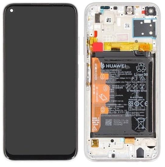 Image de Unité d'affichage pour Huawei P40 Cristal respiratoire