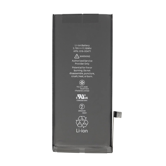 Image de Batterie pour iPhone XR 2942mAh Li-Ion