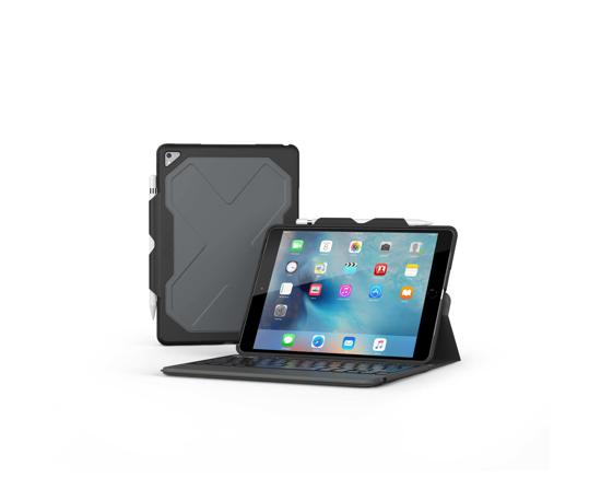 Bild von ZAGG Rugged Keyboard Messenger Folio Hülle für iPad Pro 10.5 & Air 3 Schwarz
