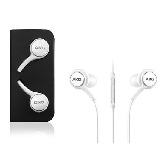 Bild von Samsung S10 / S10 + Kopfhörer EO-IG955 AKG - Weiß - Karton