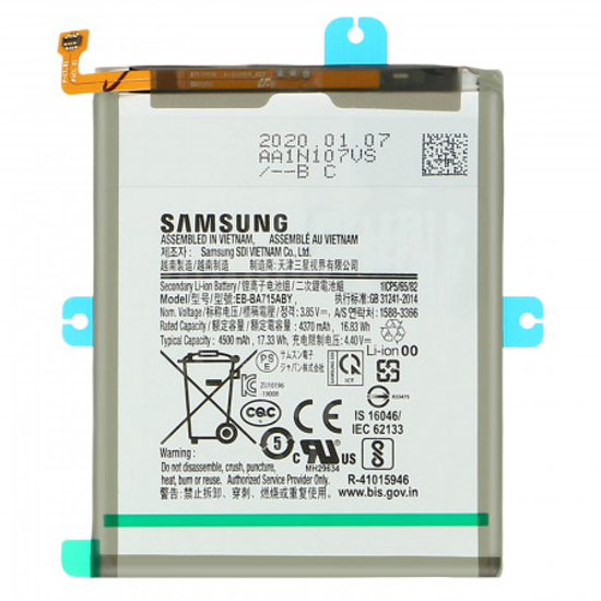 Image de EB-BA715ABY Samsung Batterie Li-Ion 4500mAh (Service pack)