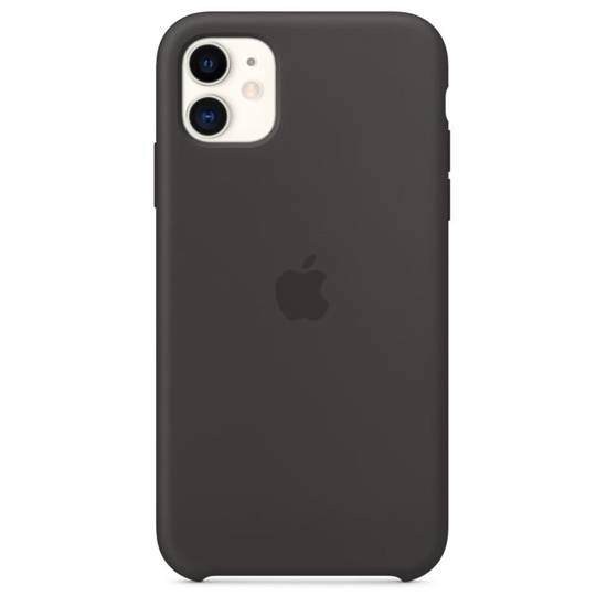 Image de MWVU2ZM/A Apple Silicone Cover for iPhone 11 Black