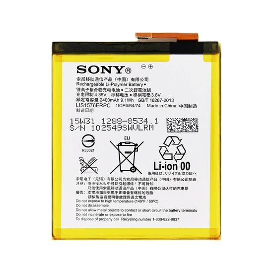 Image de 1288-8534 Batterie Sony 2400mAh Li-Pol