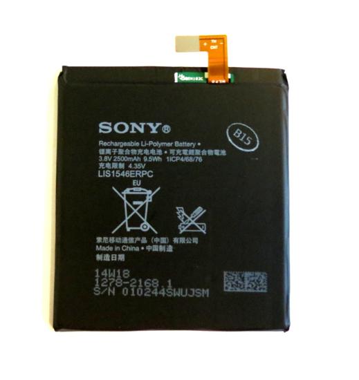 Image de 1278-2168 Sony Batterie 2500mAh Li-Pol
