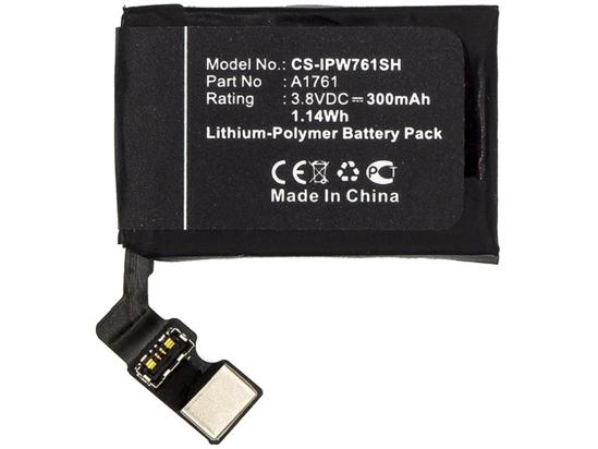 Image de CS-IPW176SH Batterie 300mAh Li-Pol pour iWatch 2 42mm