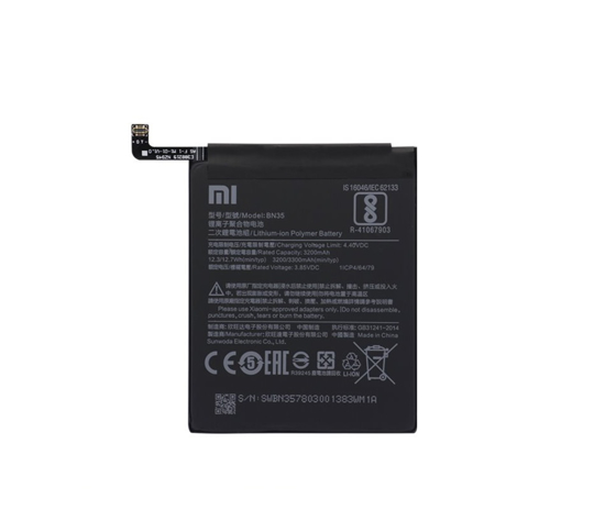 Image de Batterie BN35 Xiaomi 3200mAh