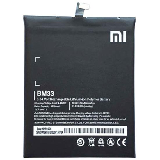 Image de Batterie BM33 Xiaomi 3030mAh