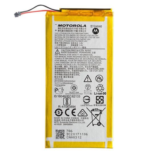 Image de Batterie HX40 Motorola 3000mAh Li-Ion