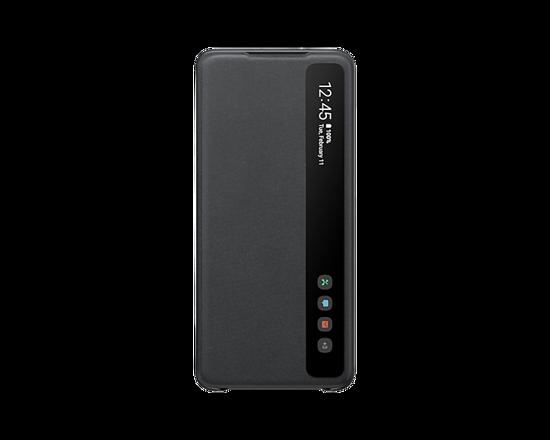 Bild von Samsung Clear View Cover EF-ZG985 für Galaxy S20 +, Schwarz
