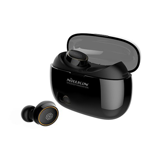 Image de Écouteurs stéréo sans fil Bluetooth Nillkin Liberty TWS noir / or
