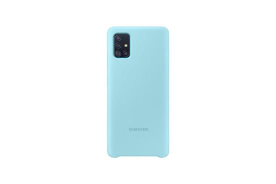 Bild von Samsung Silikonhülle EF-PA515 für Galaxy A51, Blau