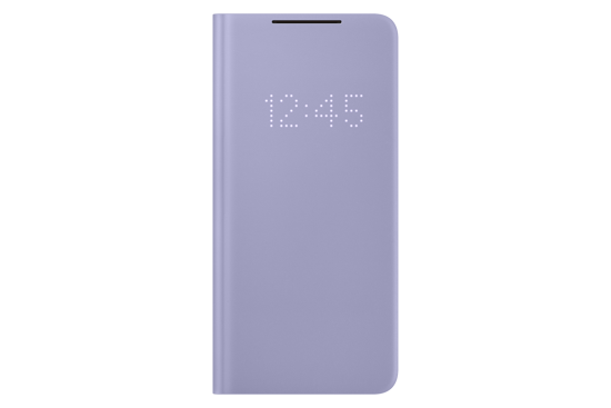 Image de Samsung Smart LED View Cover EF-NG996 pour Galaxy S21 +, violet