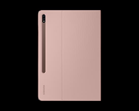 Bild von Samsung Buchcover EF-BT970 für Galaxy Tab S7 +, Braun